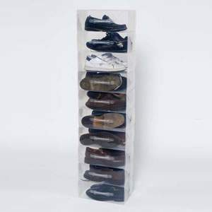 Men's Clear Shoe Boxes