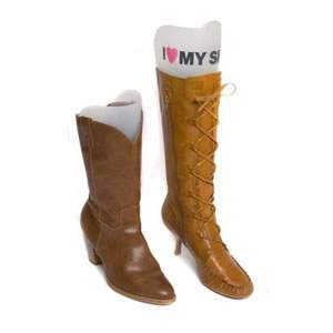 "Pair of ""I Love My Shoes"" Boot Inserts"