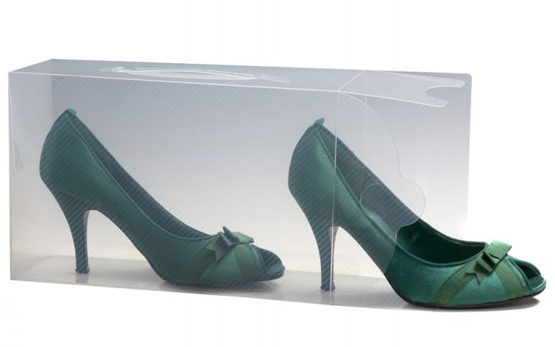 12 Ladies Stackable Shoe Storage Boxes
