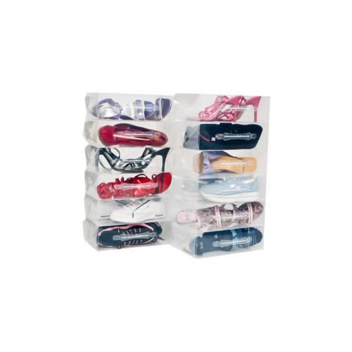 25 Ladies Stackable Shoe Storage Boxes